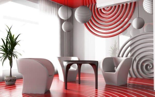 геометрические формы в стиле авангард