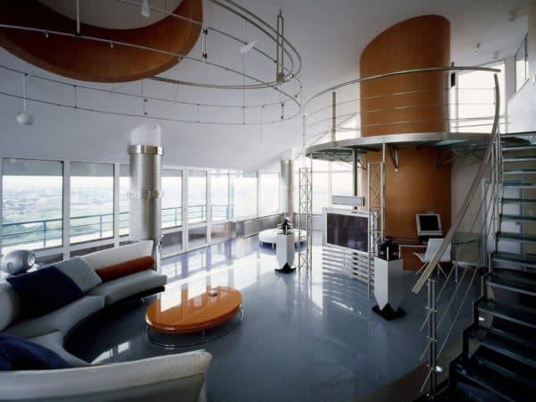 офисное здание в стиле бионика