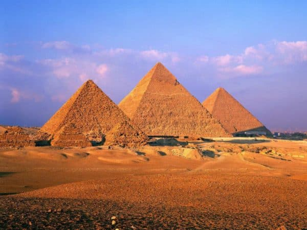 Пирамиды в Египте: чудо Света