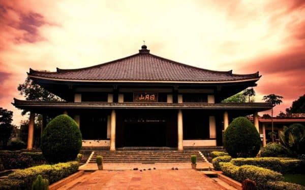особенность крыш в китайской архитектуре