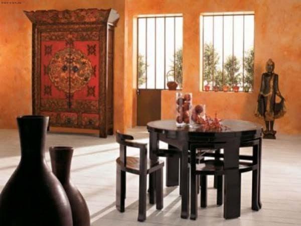 обеденная зона в китайском стиле