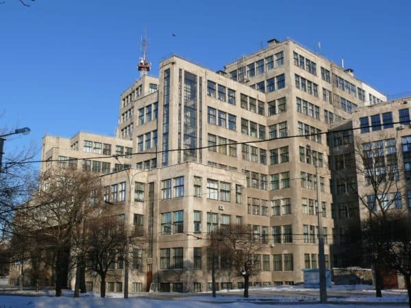 Советский конструктивизм в архитектуре