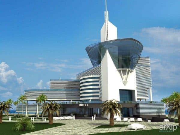 Коттедж в Тбилиси - архитектура модернизма