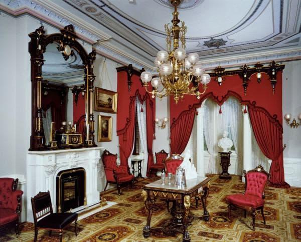 современный интерьер в стиле рококо
