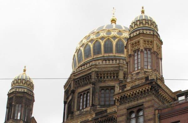 Реконструированная синагога в Германии