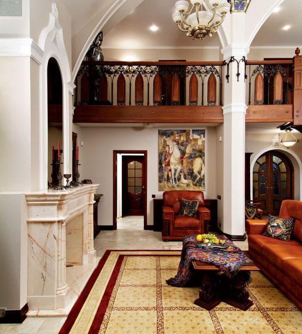 современный интерьер в византийском стиле