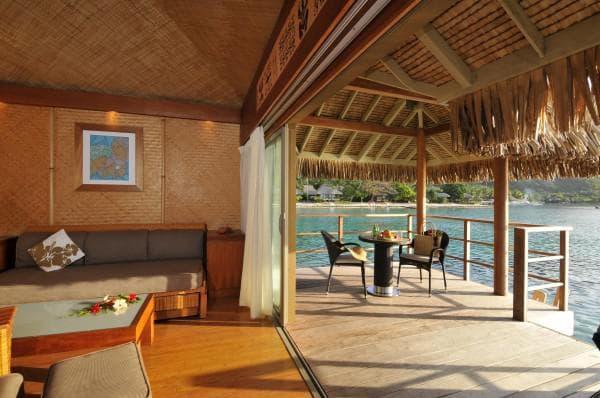 проект дома бунгало на берегу моря