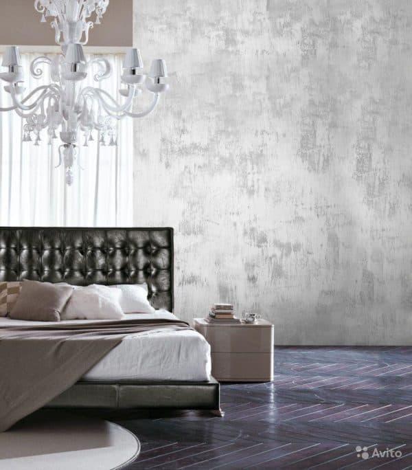 дизайн стен с декоративной штукатуркой