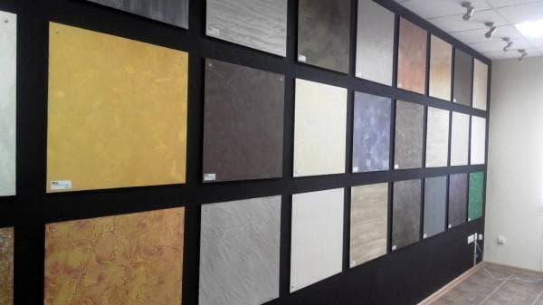 разнообразие декоративной штукатурки фирмы Сан Марко