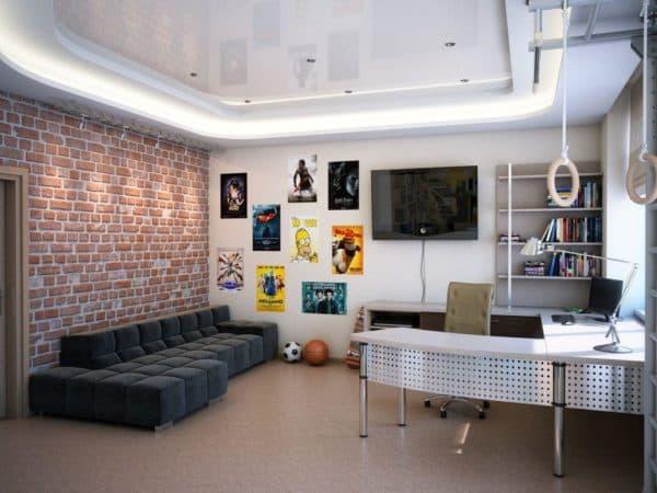 современная мебель и дизайн комнаты-подростка