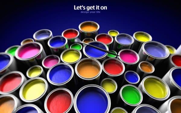 виды красок для обоев под покраску