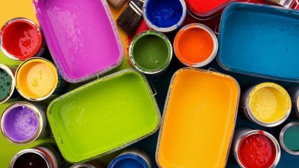 акриловая краска для обоев