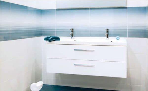 плитка в ванной комнате Paradiz