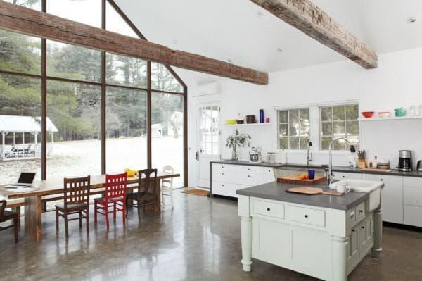 кухня и столовая в стиле шебби шик