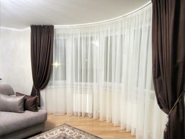 шторы для гостиной своими руками