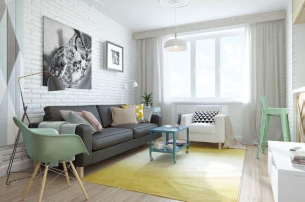 минимализм скандинавского стиля в спальне
