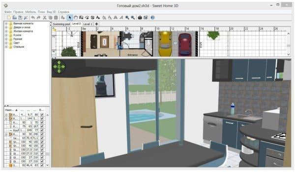 дизайн комнаты онлайн программа