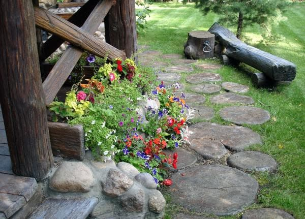 интерьер в деревенском стиле фото