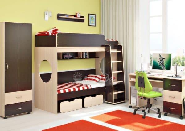 детские комнаты фото для мальчиков