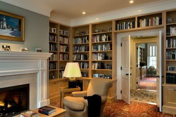 спальня кабинет дизайн фото
