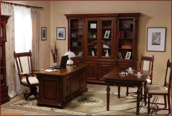 дизайн рабочего кабинета