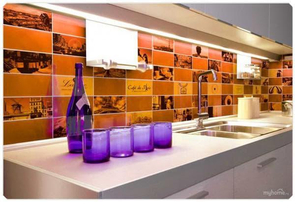 керамическая плитка для пола кухни фото