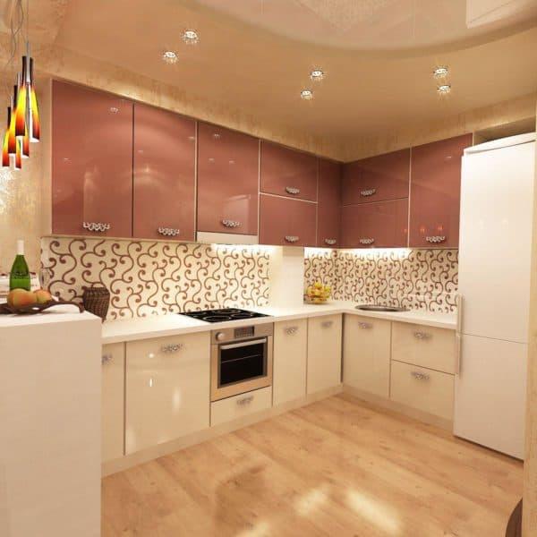 фартуки для кухни из керамической плитки фото