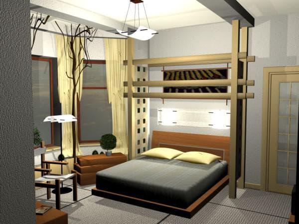 дизайн спальни фото
