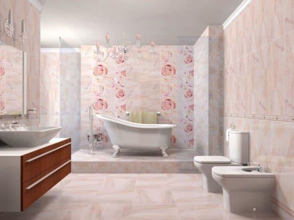 размеры плитки для ванной