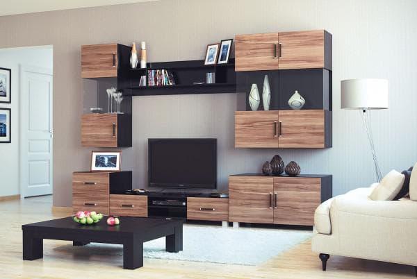 мебельные стенки для гостиной недорого