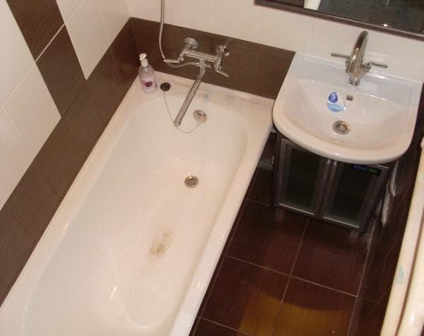 дизайн ванной в хрущевке фотогалерея