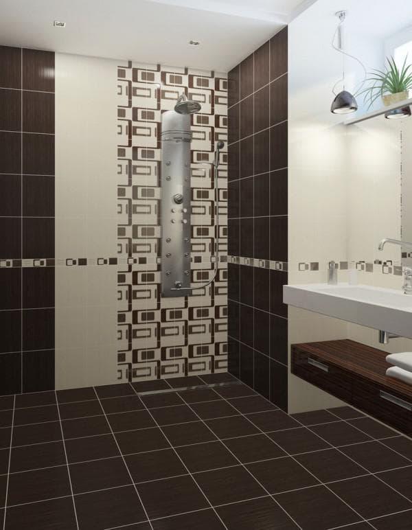 ванна комната маленькая дизайн