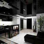 Квартира холостяка дизайн