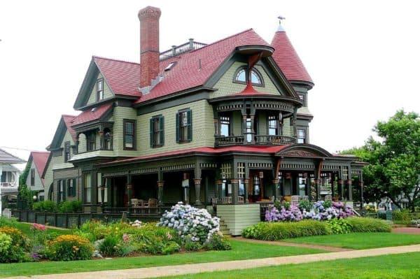 Современная интерпретация архитектуры в викторианском стиле
