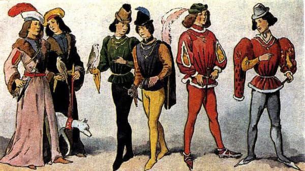 Мода готического Средневековья