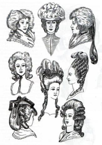 Модные прически эпохи классицизма