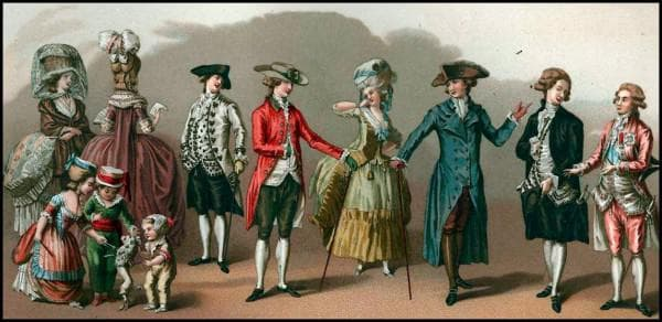 Мода эпохи классицизма