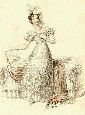 платье в ампирском стиле