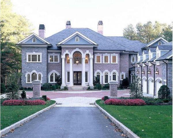 дома в английском стиле