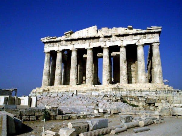 архитектура античности