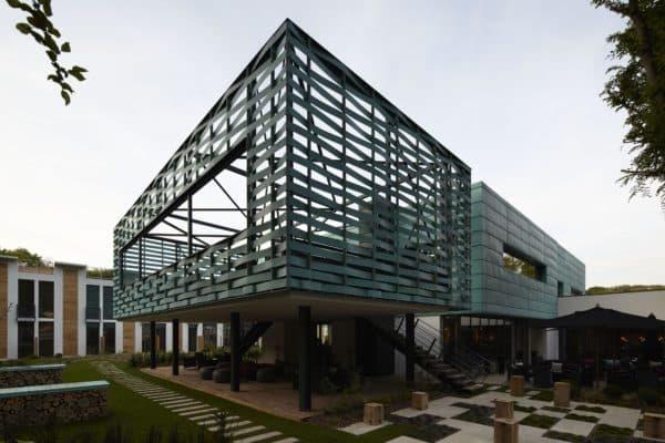 архитектура в стиле авангард