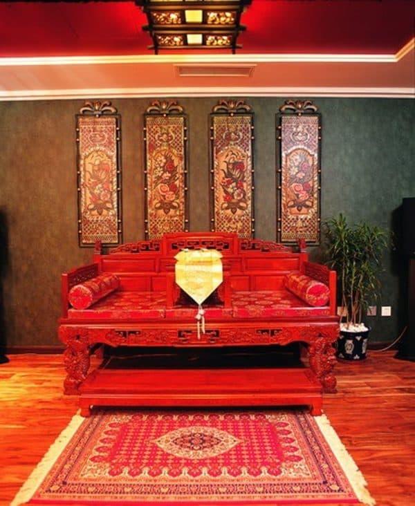 диван в китайском стиле