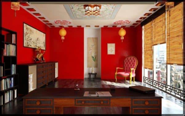 кабинет в китайском стиле