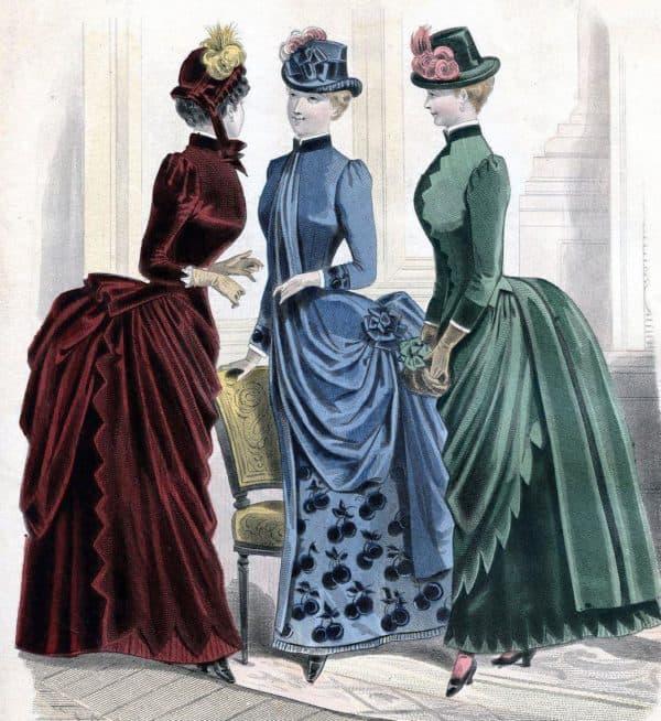 Стиль одежды в стиле модерн