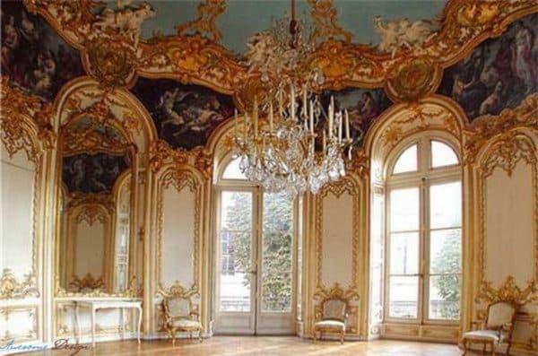 банкетные залы в стиле рококо