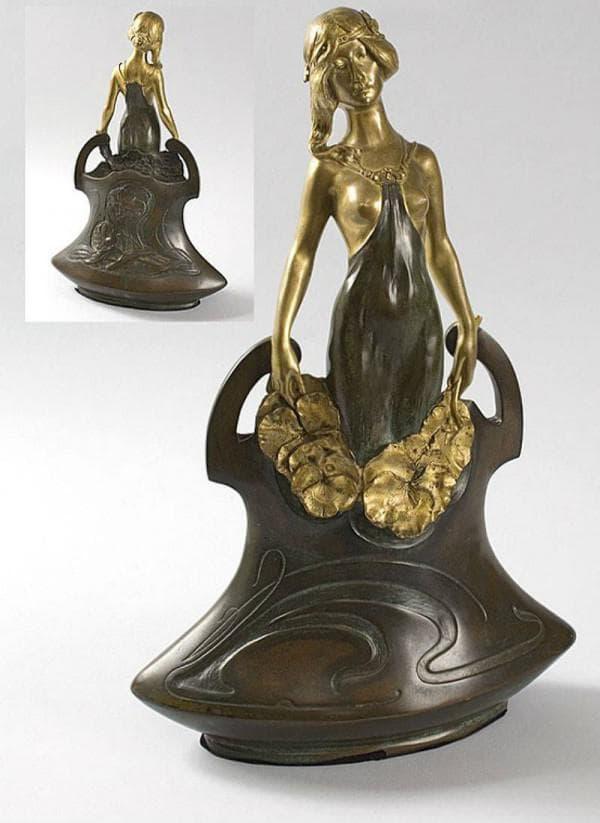 Скульптура ар-нуво