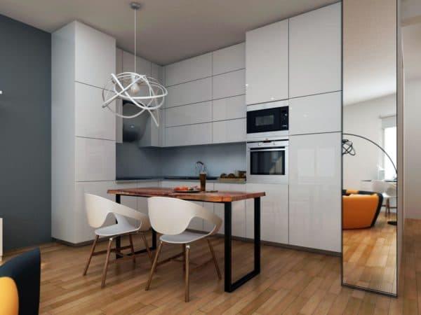 кухня в стиле деконструктивизм