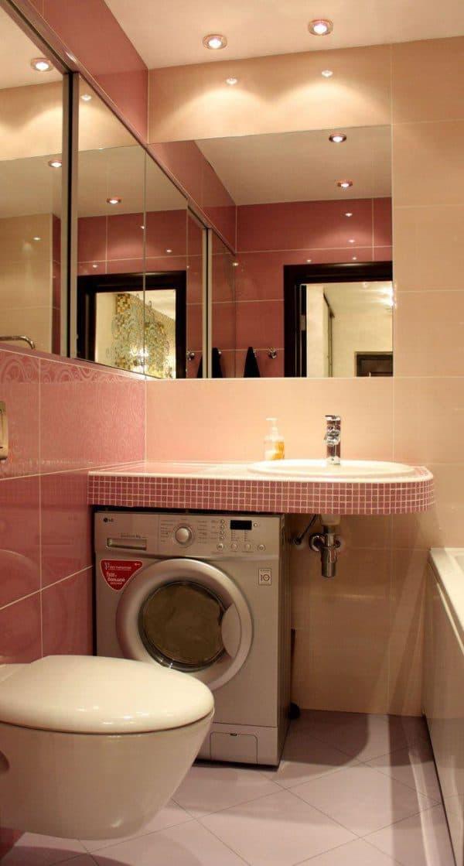 плитка на пол в ванной