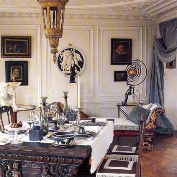 гостиная в стиле фьюжн