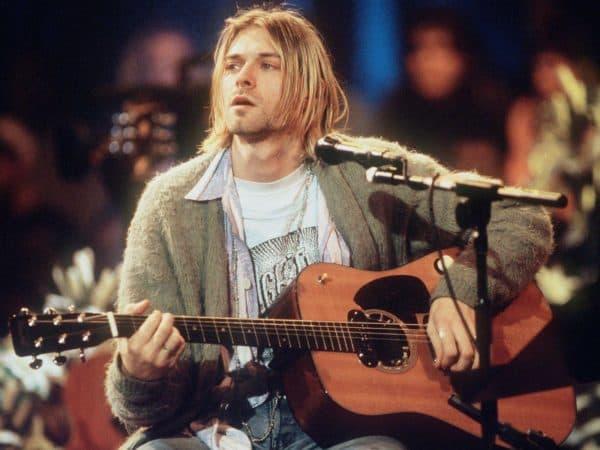 """Курт Кобейн, легендарный солист группы """"Nirvana"""""""